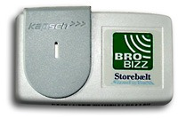 Image of the Brobizz OBU.
