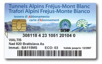 Image of the Frejus Card payment method.