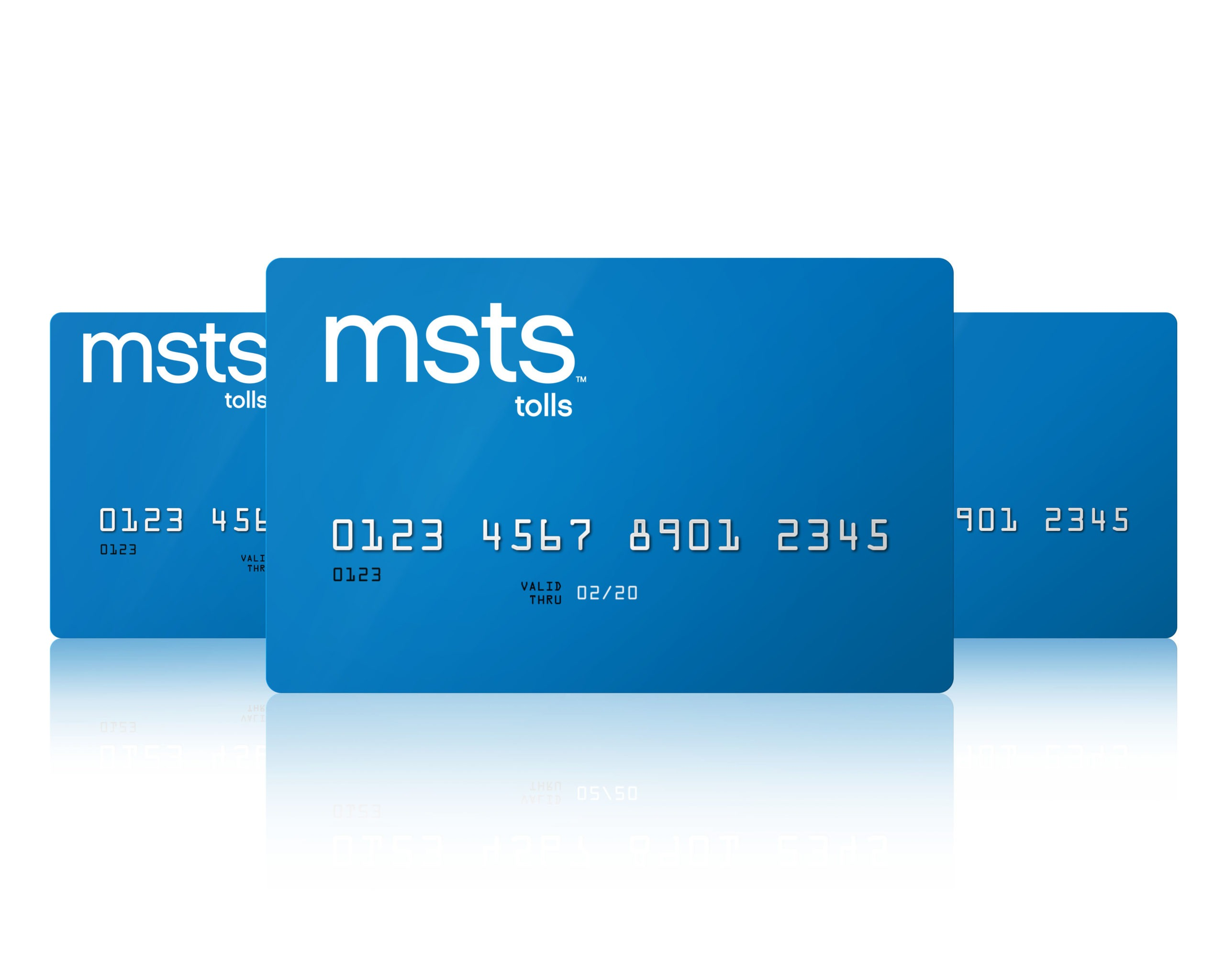 Image of the MSTS Tolls Card.