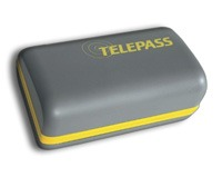 Image of the Telepass OBU.
