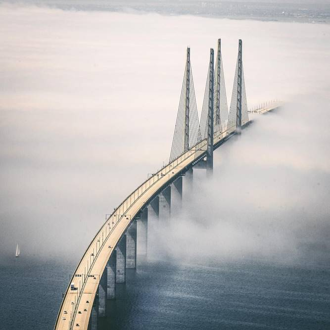 Photo of the Öresundsbron Bridge